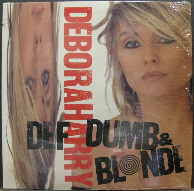 DEBORAH HARRY Def Dumb & Blonde 1989 US ORG LP Shrink