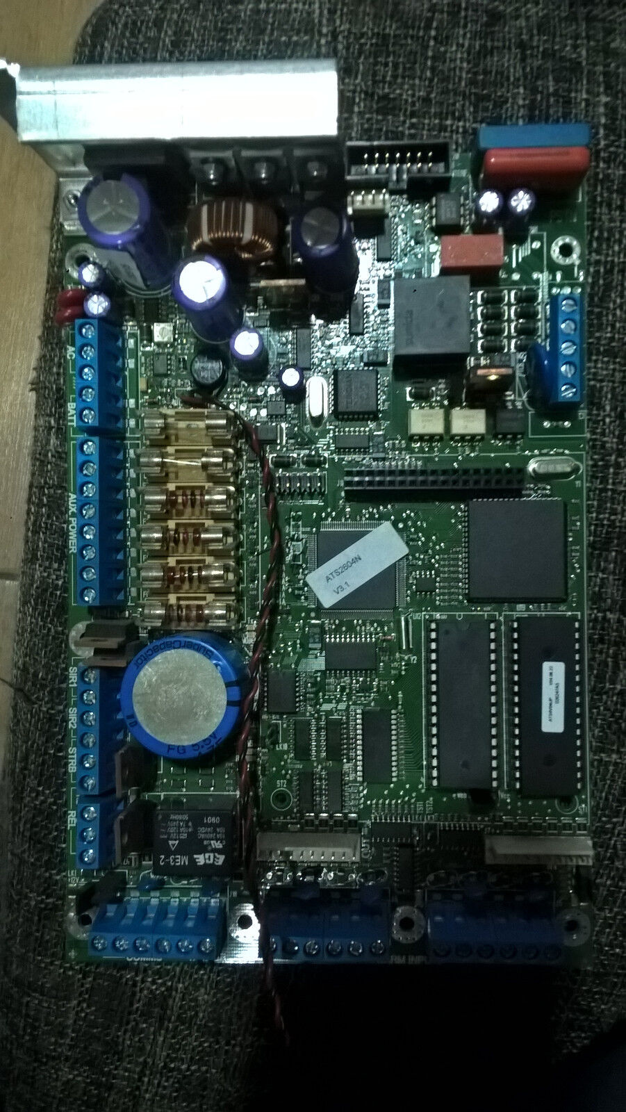 GE Security UTC Aritech ATS 2604 Zentralenplatine