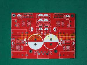 LM3886 x2 + opamp preamplifier 68W 4 ohm amplifier PCB