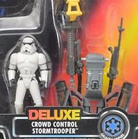 Hasbro Star Wars - Power of the Force (1995) Stormtrooper (Crowd Control) Deluxe Figures Action Figure Toys