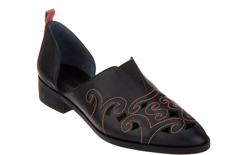 Lori orstein collection Perforé Western Slip-On chaussures Pick Taille Couleur