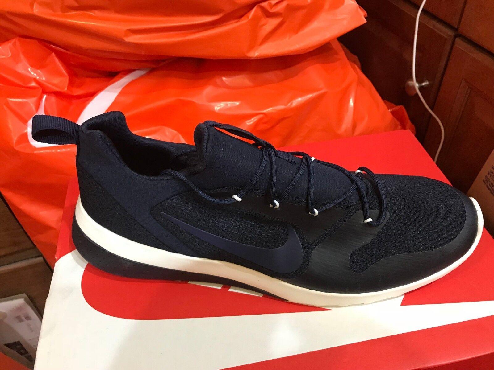 Nike CK Racer SZ 12 Obsidian Black Sail 916780 402 Lifestyle Running Men's Sizes