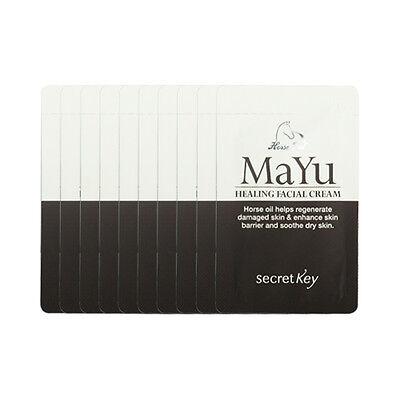 [Secret Key] Mayu Healing Facial Cream Samples - 10pcs