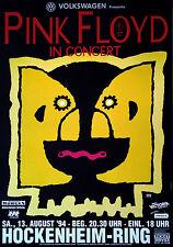 Pink Floyd - Hockenheimring 1994   original Konzertposter, Tourplakat