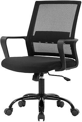 Office Chair Ergonomic Desk Task Chair Mesh Computer Chair Mid Back Mesh Home Of Ebay