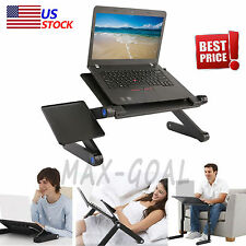 360° Adjustable Foldable laptop Desk Aluminum Table Stand Bed Notebook Tray VIP
