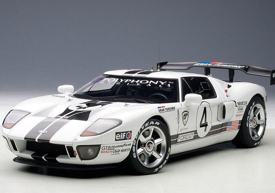 2005 Ford gt lm race car spec ii échelle 1 18 Autoart  80515 Brand New Re-Release