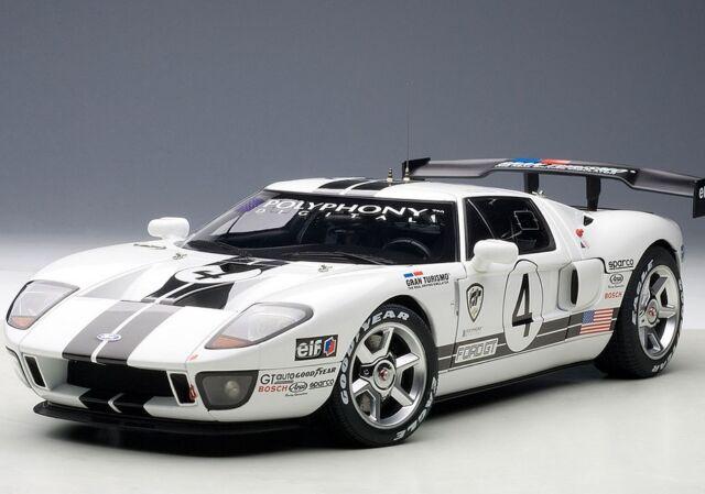 Autoart Millennium  Ford Gt Lm Race Car Spec Ii   Gran Turismo
