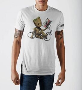 Official Guardians Of The Galaxy Vol 2 Awesome Mix 2017 T-Shirt Marvel Groot