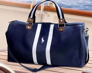 Image Is Loading Ralph Lauren Polo Blue Weekend Travel Holdall Gym