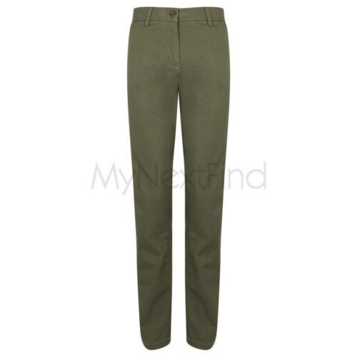 FRONT ROW Pantaloni Chino da Donna Stretch