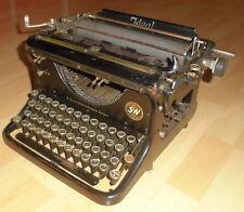büro schreibmaschine schreib maschine ideal v seidel & naumann alt top deko 30er