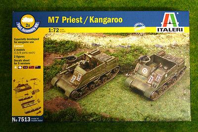 Italeri M7 Priest/ Kangeroo FAST ASSEMBLY 1/72 kit 7513