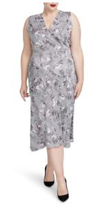 Rachel Rachel Roy De Moda Tallas Grandes Vestido Talla 18w Nuevo Con Etiquetas Impresas Giles Ebay