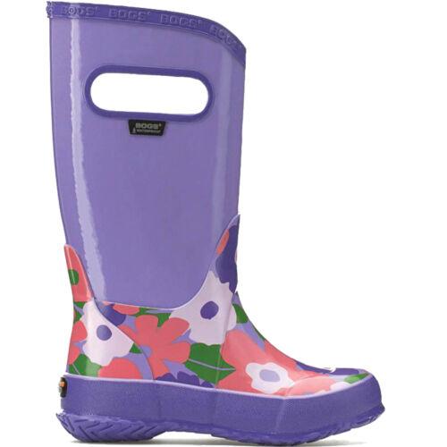 Ragazze Bogs Violet Multi Fiore leggero Rain Boot Stivali di gomma Stivali di gomma 71927