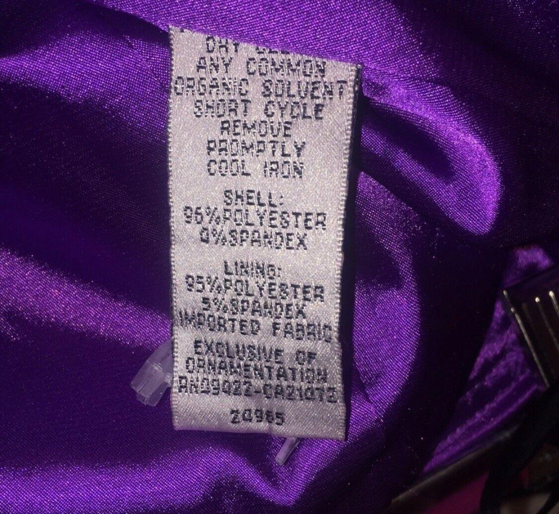Jessica McClintock bridal purple dress size 8 Wom… - image 4
