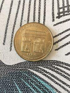 Jeton-Touristique-Arc-De-Triomphe-Paris-Collection-Nationale-2000-Monnaie-Paris