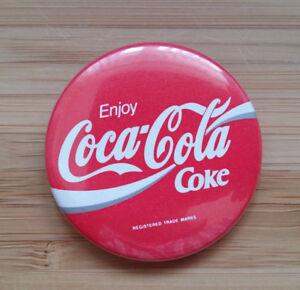 Coca Cola  Enjoy Coke   Button Badge 1990039s -  Northamptonshire, United Kingdom - Coca Cola  Enjoy Coke   Button Badge 1990039s -  Northamptonshire, United Kingdom