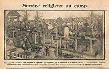 Aumônier Pasteur Cimetière Militaire alsace Elsass Tombes Feldgrauen WWI 1915