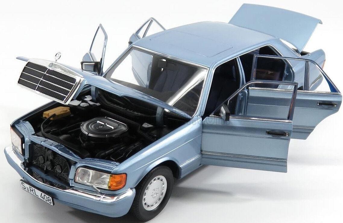 NOREV 1:18 AUTO DIE CAST MERCEDES - BENZ AMG 560 SEL 1991 BLU PERLA ART 183464