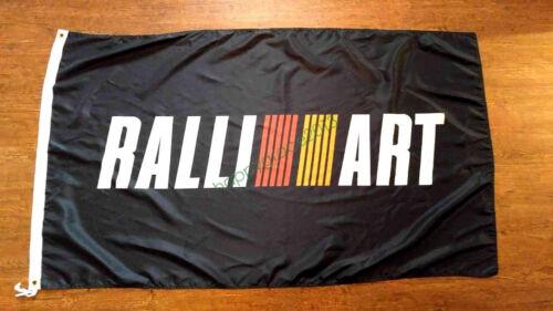 Bannière Drapeau Pour Ralliart Drapeau 3x5FT Garage Wall Decor Publicité Promotion