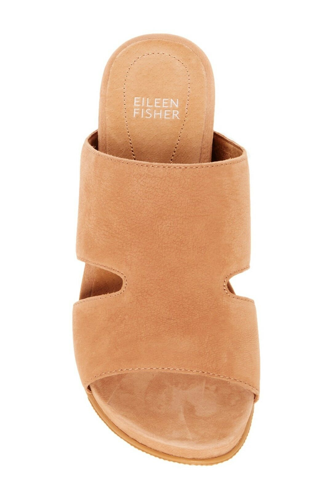 New Eileen Fisher  Art to to to Wear  Wheat Grand Platform Sporty Mule Clog 8 M 13534d