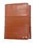 Genuine Eel Skin Leather Men/'s Trifold Wallet Light Weight Front Pocket Holder