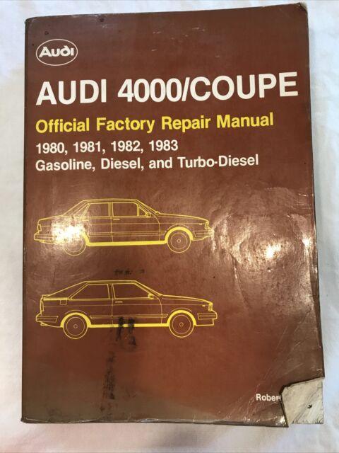 research.unir.net Motors Service & Repair Manuals 1980 Audi 4000 ...