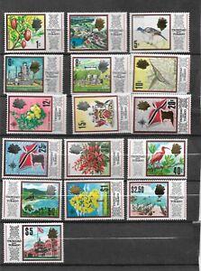 Doux Trinidad 1969 Nouveaux Designs Set De 16 Sg 339 354 Ma Ref 1478-afficher Le Titre D'origine