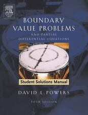 Boundary Value Problems : And Partial Differential Equations by David L....