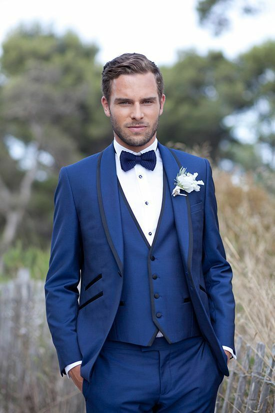 724799451 Royal bluee Men Suits Shawl Lapel Wedding Groom Groomsmen Suits Tuxedos  Formal