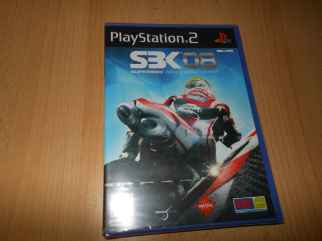 SBK 08  SUPERBIKE WORLD CHAMPIONSHIP - SONY PLAYSTATION 2 PS2 NEW SEALED  pal