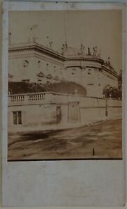 Parigi Museo Legione Di Onore Francia Foto CDV L2n19 Vintage Albumina c1860