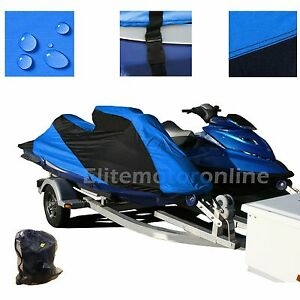 Yamaha Jet Ski Wave Raider Custom Fit Trailerable Jetski Pwc Cover Ebay