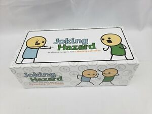 New-Sealed-Joking-Hazard-Offensive-Adult-Party-Card-Game-Cyanide-amp-Happiness