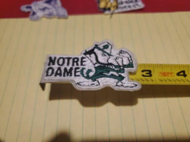 1980's Football University of Notre Dame Go Fighting Irish ...