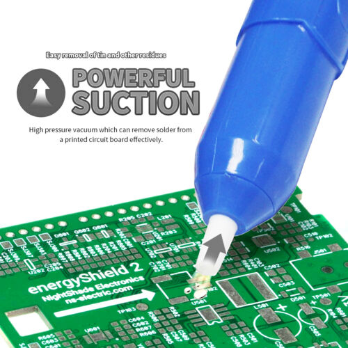 Vacuum De-solder Gun Desoldering Pump//Soldering Solder Sucker Removal Tool USA