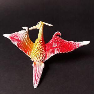 Archaeopteryx-vintage-80-039-s-plastic-figure-dinosaurs-prehistoric-birds-Hong-Kong