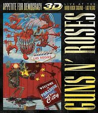 GUNS N' ROSES - APPETITE FOR DEMOCRACY 3D: LIVE  BLU-RAY NEU