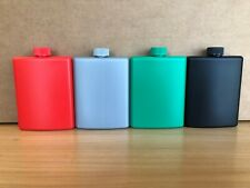 4 Pack - Multi Color - Plastic Alcohol Flask - Free Shipping