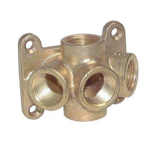 Luftweiche Luft Druckluft Luftweiche Abzweig PN 16 Kupplung Dose Wanddose