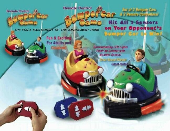 Remote Control Battery Powered Bumper Cars Game
