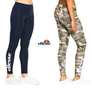 Ellesse-Leggings-Mujer-Solos-Gym-Fitness-Pantalones-deportivos-XS-S-M-L-XL