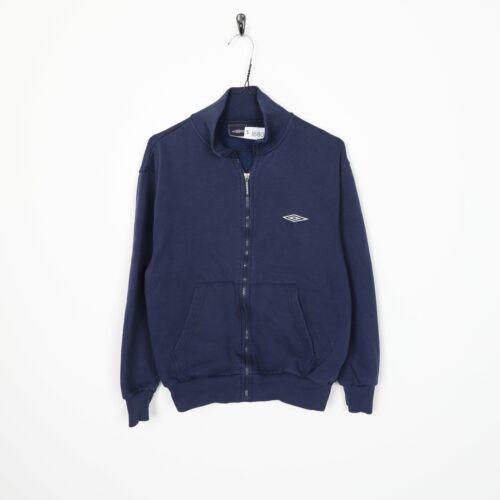 Vintage UMBRO Small Logo Zip Up Sweatshirt Jumper