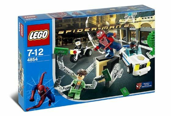 Lego Spider-Man 4854 Doc Ock's Bank Robbery Nuevo Sellado