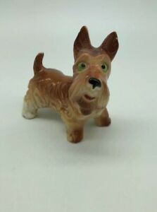 vintage-Scottish-Terrier-SCOTTY-Dog-Rusty-Brown-Green-Eyes-Pottery-Figurine