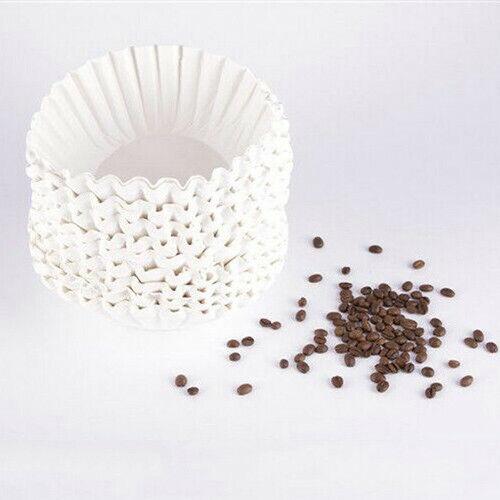 50 X White Filter Paper for Coffee Machine Brewer Espresso Maker Dripper 25CM