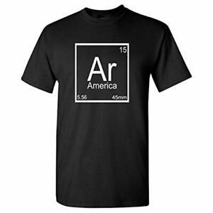 AR-15-America-Element-on-a-Black-Short-Sleeve-Shirt