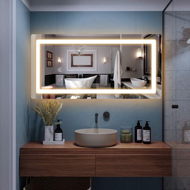 18 Dowell 5001 1831 Ml Glass Led Bathroom Mirror For Sale Online Ebay