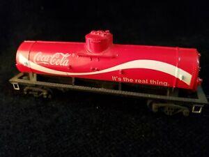 Tyco-HO-Scale-Coca-Cola-Tanker-Tank-Zug-Auto